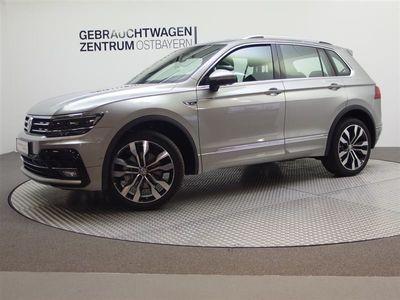 gebraucht VW Tiguan TDI 4M DSG R Line AHK+Nav+Stdh+Leder+Pano