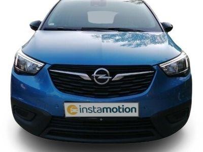 gebraucht Opel Crossland X Crossland X1.2 Edition +BEH. FRONTSCHEIBE+INTELLILINK+PDC+DACH-PAKET