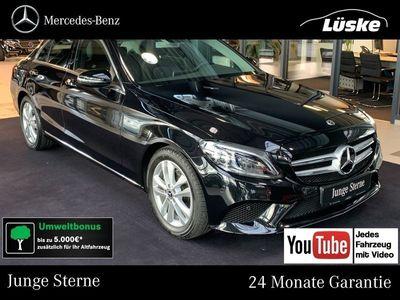 gebraucht Mercedes C220 d AVANTGARDE Schiebedach Kamera Totwinkel