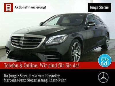 gebraucht Mercedes S400 d L 4Matic AMG Line Sportpaket Bluetooth Navi LED
