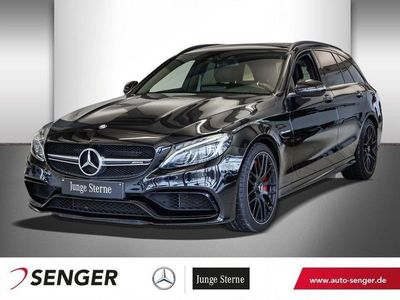 gebraucht Mercedes C63S AMG Mercedes-AMGT+NIGHTP+COMAND+PANO+KAMERA+
