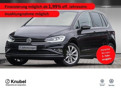 gebraucht VW Golf Sportsvan Highline 1.5 TSI DSG LED Navi ACC ParkAssist