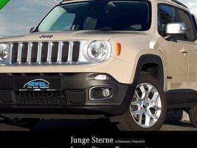 gebraucht Jeep Renegade 2,0 MultiJet 4WD *AWD*KLIMA* Limited