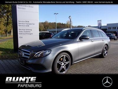 gebraucht Mercedes E220 T AVANTG.+AMG-RÀder+AHK+Kamera+NAVI+SHD+