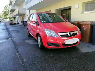 gebraucht Opel Zafira CNG und benzin 1.6 TÜV 02.2022 als Van/Kleinbus in Singen