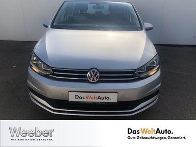 gebraucht VW Touran 1.6 TDI Comfortline Navi PDC LM Tempo