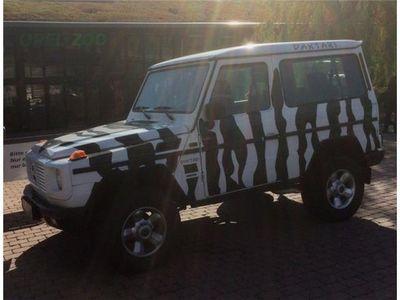 gebraucht Mercedes G230 (GE) Zebra-Look, gepflegt, grüne Plakette!
