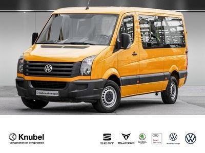 gebraucht VW Crafter 35 Kombi 2.0 TDI MR Standhzg. Schwingsitze AHK Klima