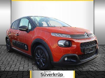 gebraucht Citroën C3 1.2 PT 110 Shine Glasdach Navi Rückfahrkamer