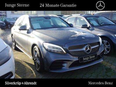 gebraucht Mercedes C300 T AMG Line Sportabgas Navi LED Kamera Easy