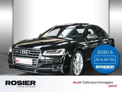 gebraucht Audi S8 plus 4.0 TFSI quattro acc AHK Abstandstemp.
