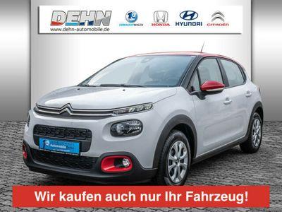 gebraucht Citroën C3 PureTech 82 Feel Navi/Klimaaut/SHZ