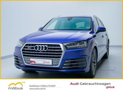 gebraucht Audi SQ7 4.0 TDI QU*Pano*Ass+AHK*Standhzg*Matrix*Bose
