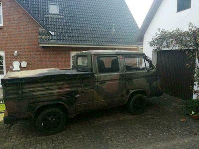 gebraucht VW T3 Doka Bundeswehr