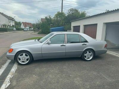 gebraucht Mercedes 500 SEL HU neu lückenloses Scheckheft