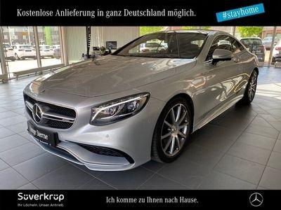 gebraucht Mercedes S63 AMG AMG 4M Coupé Sitzklima/Drivers P./Burmester