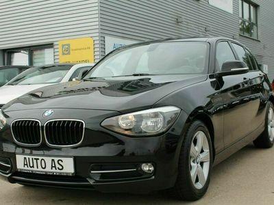 gebraucht BMW 116 d Lim. Sport Line*Navi* Tüv NEU*Service NEU