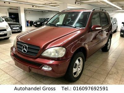 gebraucht Mercedes ML270 M-KlasseCDI / Leder / Navi / Xenon