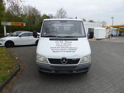gebraucht Mercedes Sprinter Pritsche Doppelkabine 208 CDI