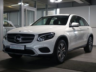gebraucht Mercedes 220 GLC4M Distronic+ Standh. AHK Navi 360°Kam.