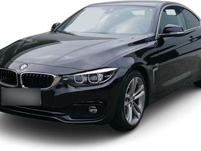 gebraucht BMW 420 420 d Sport Line Coupe LED Navi Keyless Fernlichtass. El. Heckklappe PDCv+h LED-hinten