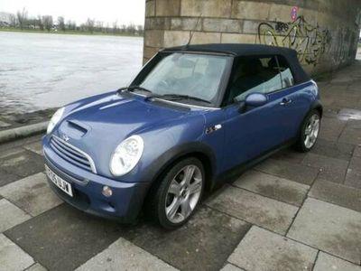 käytetty Mini Cooper S Cabriolet RHd blau metallic