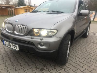 gebraucht BMW X5 3.0d Autom DPF AHK Leder Navi Panorama-Dach