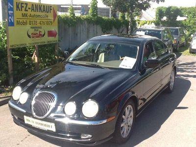 gebraucht Jaguar S-Type 3.0 V6 *AUTOMATIC *VOLLLEDER *KLIMA & GSD