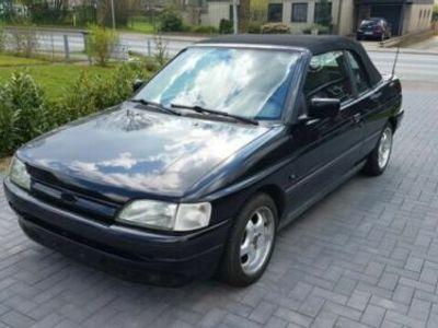 gebraucht Ford Escort Cabriolet CLX
