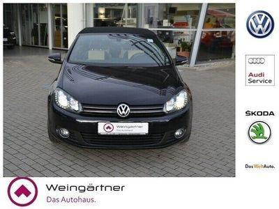 gebraucht VW Golf Cabriolet VI Exclusive 2.0 TDI, Leder, Bi-X