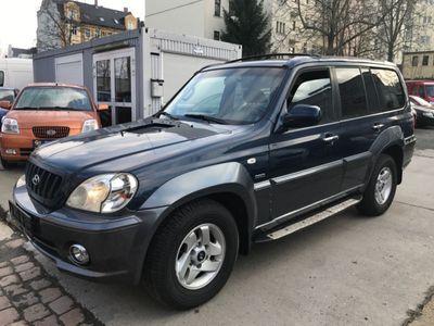 used Hyundai Terracan 2.9 CRDi -Leder-Trittbretter-