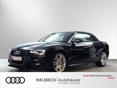 gebraucht Audi A5 Cabriolet 2.0 TDi multitronic XENON TEMP SPORT
