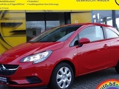 gebraucht Opel Corsa E Edition Bluetooth PDC Allwetter Werkswagen