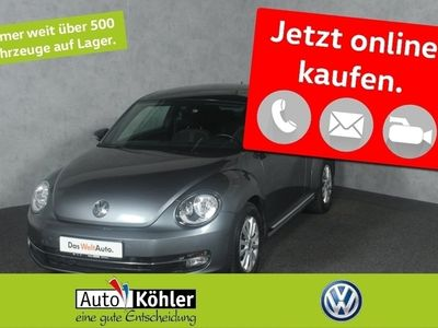 gebraucht VW Beetle iBeetle Sport TDi DSG Fender Keyless Access Pano Automatik Sportsitze Kurvenl. SD Anthrazit