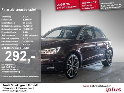 gebraucht Audi A1 Sportback sport 1.4 TFSI admired plus S line