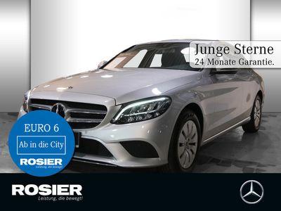 gebraucht Mercedes C200 Avantgarde LED+ Navi Kamera Spur-P. LED Na