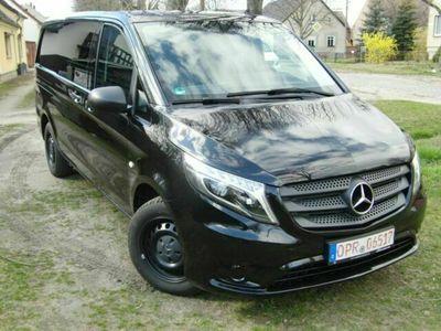gebraucht Mercedes V200 d lang MIXTO 5Sitzer Navi Standheizung AC