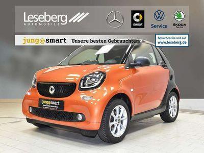 gebraucht Smart ForTwo Cabrio passion twinamic/windschott/SHZ