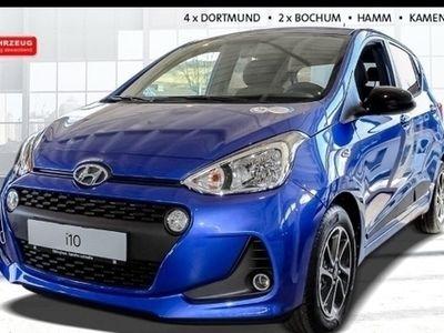 gebraucht Hyundai i10 Trend 1.2 RDC Klima SHZ Temp AUX USB MP3 ESP Spieg. beheizbar Seitenairb. BC met.
