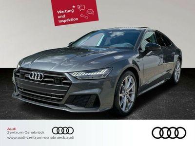 gebraucht Audi A7 Sportback 55 TFSI e quattro S-tronic AHK Assistenzpaket Laserlicht Navi TopView Leder