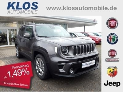 gebraucht Jeep Renegade MY19 Limited 1.0 T-GDI 2,49% 199€mtl. N