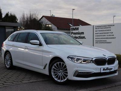 gebraucht BMW 520 d T.KomfS.DrvAs+ACC P-As+S-View AHK KmfZ Pano
