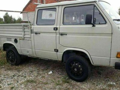 gebraucht VW T3 VerkaufeDoka 1.9 Diesel 4x4 Syncro