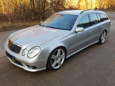 gebraucht Mercedes E55 AMG AMG T Automatik,Top,TÜV-Neu,Scheckheft,Garantie !!