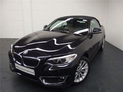 gebraucht BMW 218 i Cabrio Aut./Luxury-Line/Navi/Xenon/HiFi/PDC