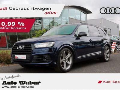 """gebraucht Audi Q7 50 TDI 2xS LINE BLACK ACC AHK VC LED 21"""""""