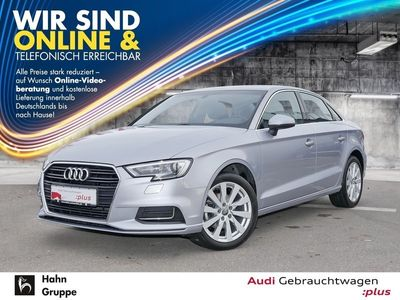 gebraucht Audi A3 Limousine Design 1.0TFSI S-Trc Xen Einpark Sitzh Klima