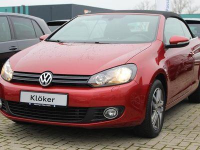 gebraucht VW Golf Cabriolet 1.6 TDI Design Style Windschott Sit