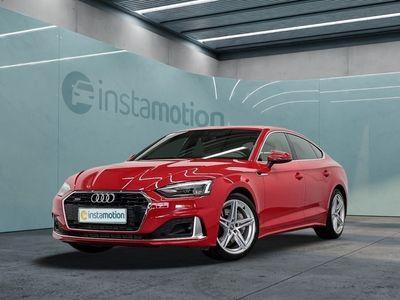 gebraucht Audi A5 Sportback A5 45 TDI Q ADVANCED LEDER eSITZE VIRTUAL