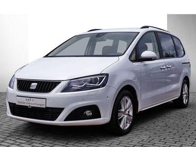 gebraucht Seat Alhambra Style 2.0 TSI 7-Sitzer Navi StandHZG Dyn. Kurvenlicht Parklenkass. Rückfahrkam.